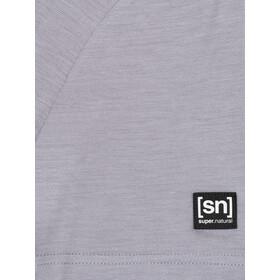 super.natural Tencel Koszulka Mężczyźni, silver grey